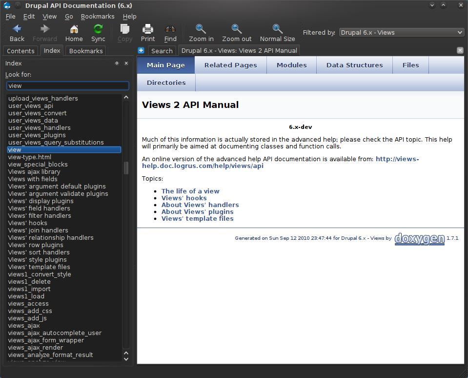 Drupal Development made easier with Qt Assistant - Part 4
