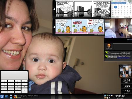 My Desktop - Click to Enlarge