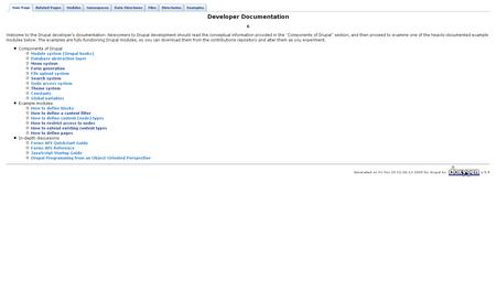 Drupal Documentation