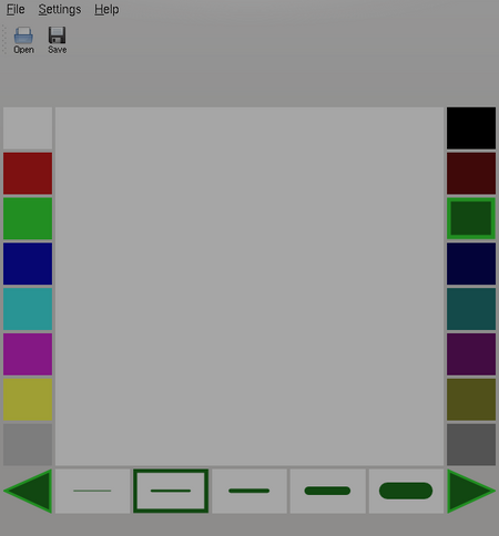 KidDraw (Current KDE version)