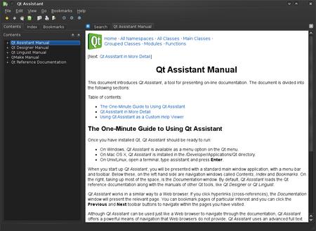 Qt Assistant