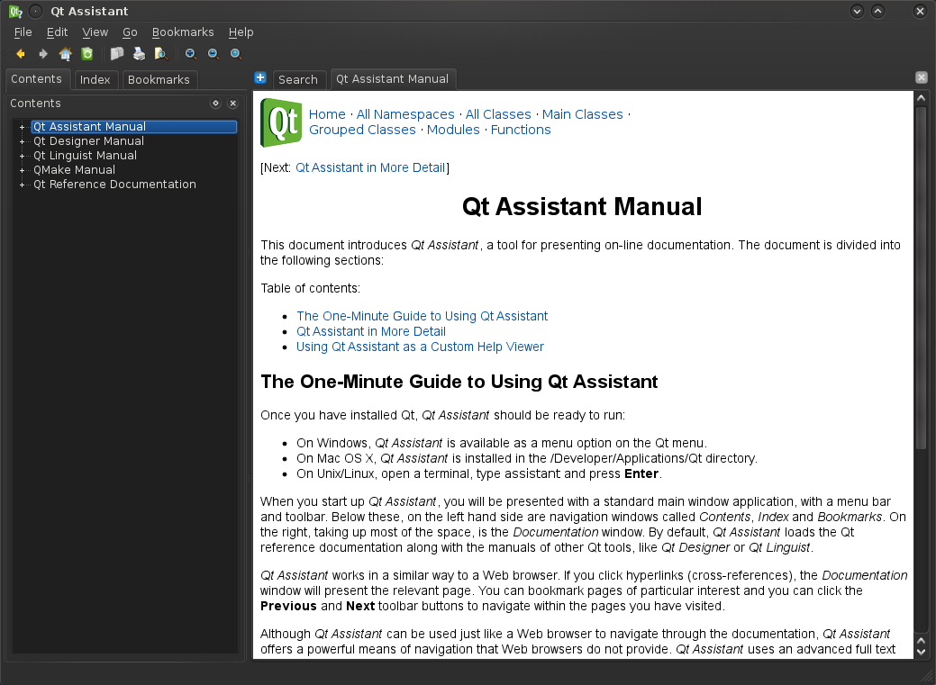 Drupal Development made easier with Qt Assistant - Part 1 | ChEeTaH's